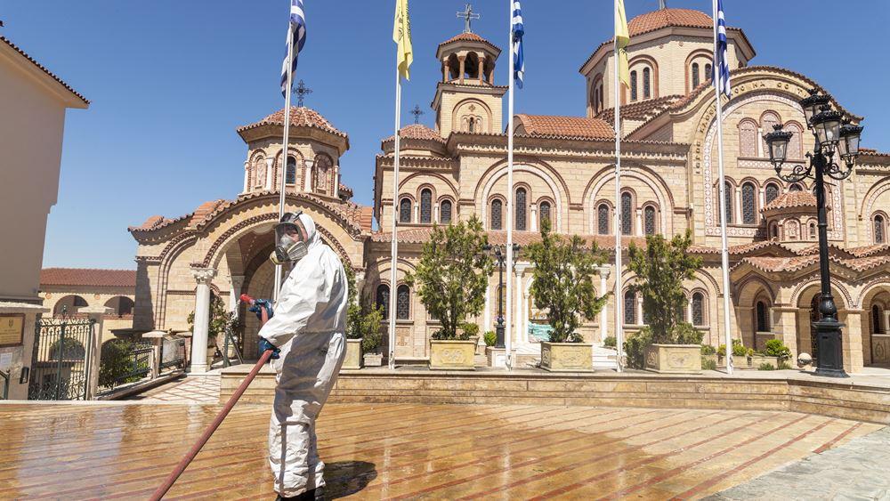Εντείνονται τα μέτρα κατά του κορονοϊού στο δήμο Θεσσαλονίκης