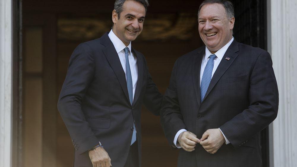 Η συνάντηση Μητσοτάκη-Πομπέο και η αναβάθμιση του στρατηγικού ρόλου της Ελλάδας