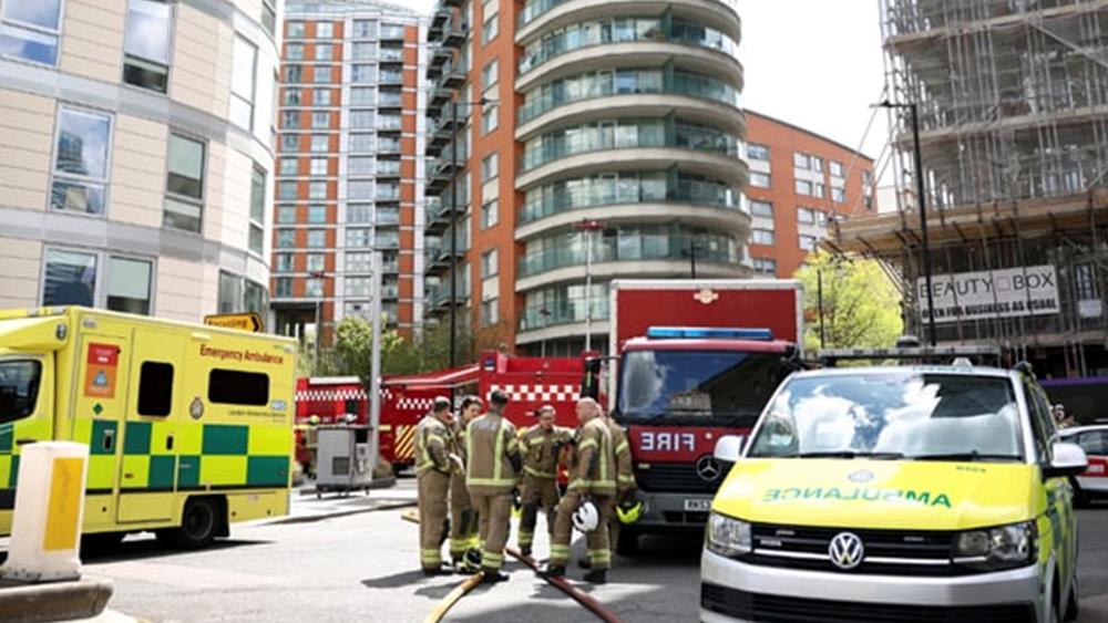 Φωτιά σε 19ώροφο κτιριακό συγκρότημα κατοικιών στο Λονδίνο