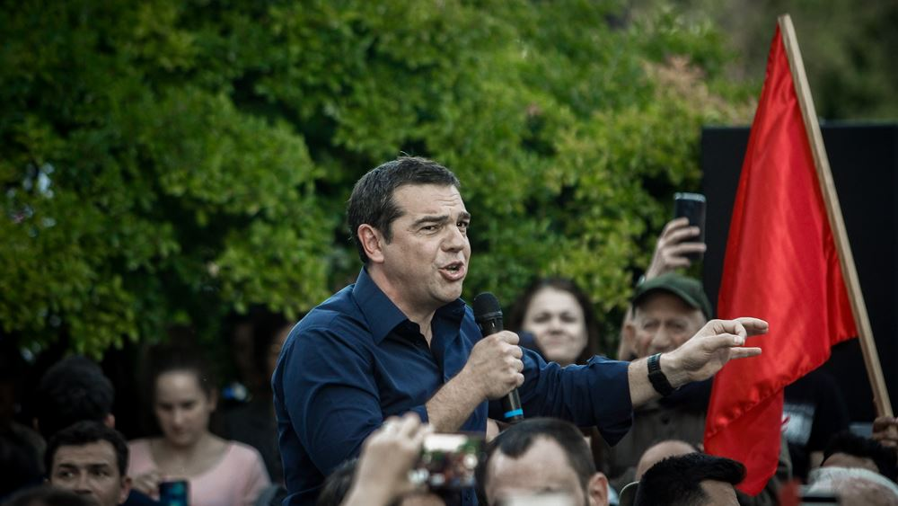 """Ο Τσίπρας """"απειλεί"""": Αν δεν ψηφίσετε ΣΥΡΙΖΑ, κινδυνεύουν τα θετικά μέτρα και η 13η σύνταξη"""