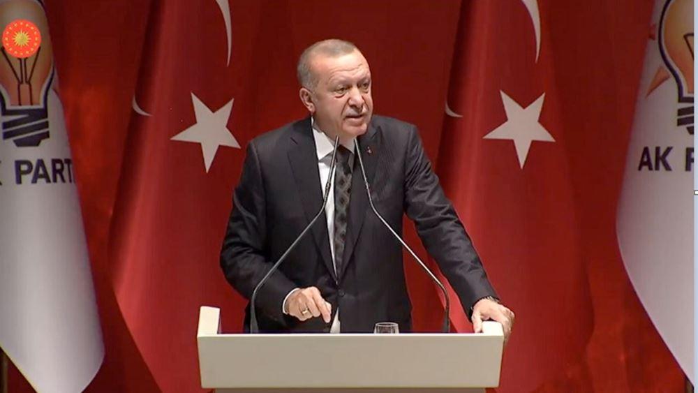 Ερντογάν σε Τραμπ: Πιο πολλές ζωές θα σωθούν αν νικήσουμε την τρομοκρατία