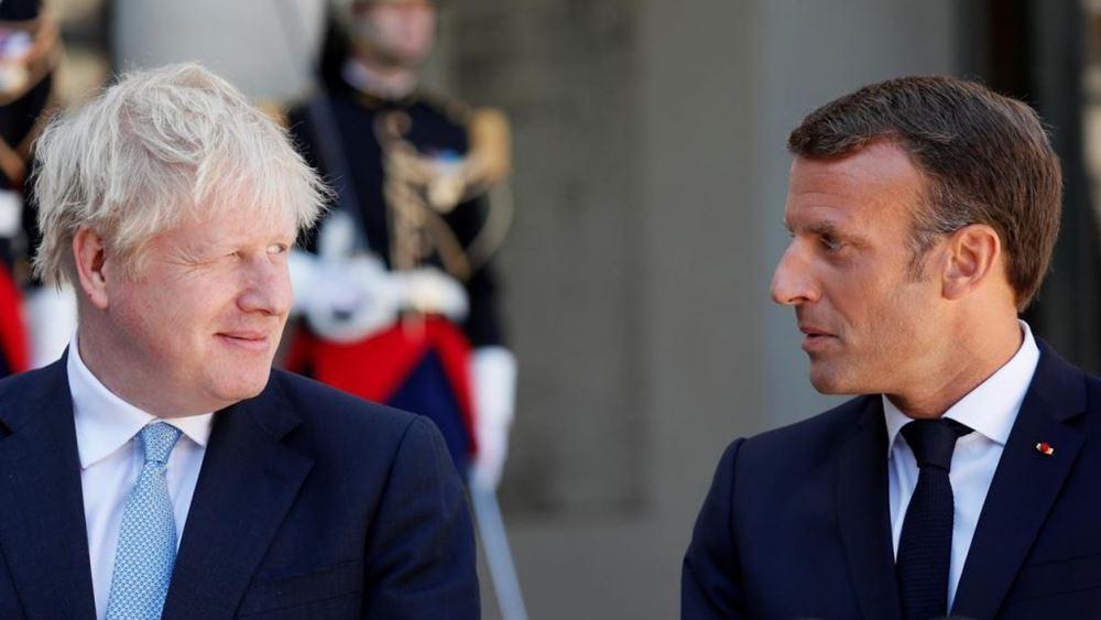 Τζόνσον-Μακρόν επανέλαβαν τη δέσμευσή τους στη διεθνή συμφωνία για το ιρανικό πυρηνικό πρόγραμμα