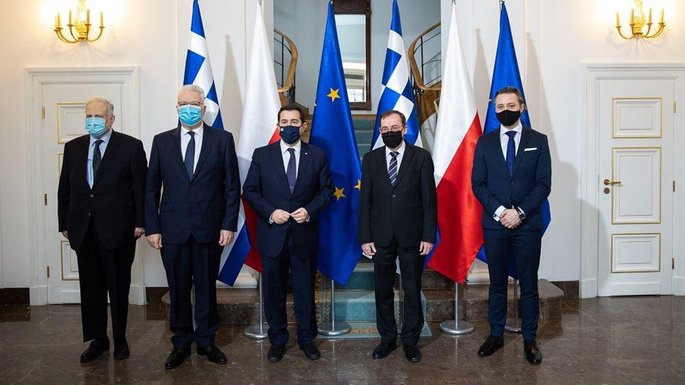 Συνάντηση Μηταράκη με Kamiński 26.02.2021