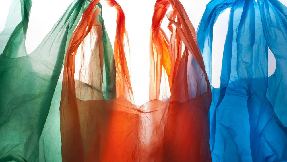 ΙΕΛΚΑ: 80% μείωση της χρήσης πλαστικής σακούλας στα σουπερμάρκετ το 2018