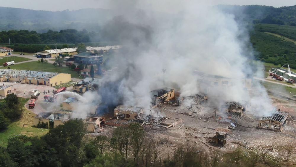 Τουρκία: Τουλάχιστον 4 οι νεκροί από έκρηξη σε εργοστάσιο πυροτεχνημάτων
