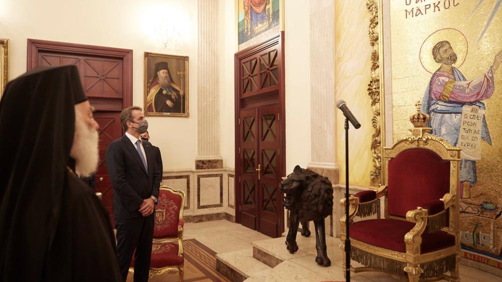 Επίσκεψη Κυριάκου Μητσοτάκη στο Ελληνορθόδοξο Πατριαρχείο Αλεξανδρείας