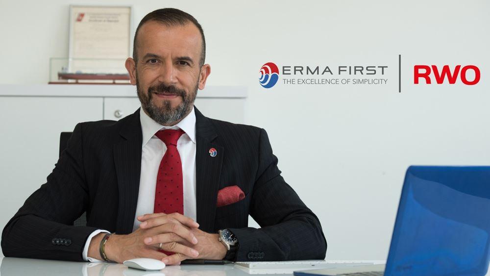 Βάση στη Γερμανία, με την εξαγορά της RWO, δημιουργεί η ERMA FIRST