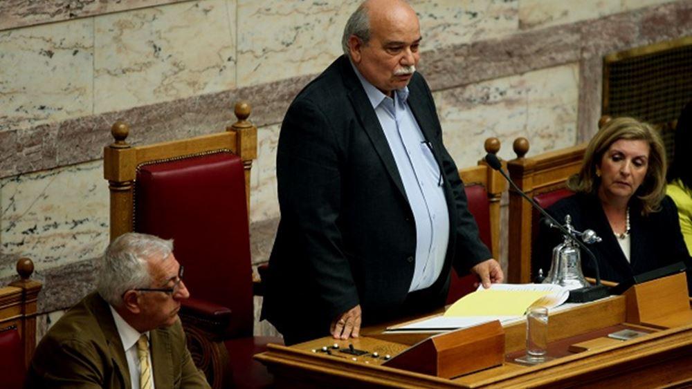 Ν. Βούτσης: Θα είμαστε θεσμικά δίπλα στον νέο πρόεδρο της Βουλής Κ. Τασούλα