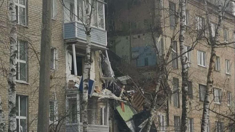 Ρωσία: Τουλάχιστον 1 νεκρός από έκρηξη σε συγκρότημα διαμερισμάτων