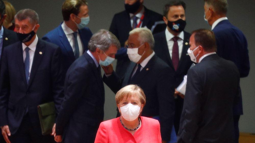 Μάσκες και δώρα σε μια ασυνήθιστη ευρωπαϊκή Σύνοδο Κορυφής