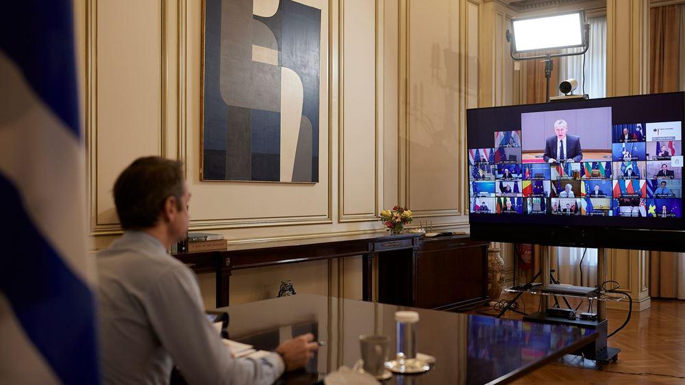 Κ. Μητσοτάκης: Η αρχή της καλής γειτονίας αυτονόητη για τη συνεργασία ΕΕ-ΝΑΤΟ