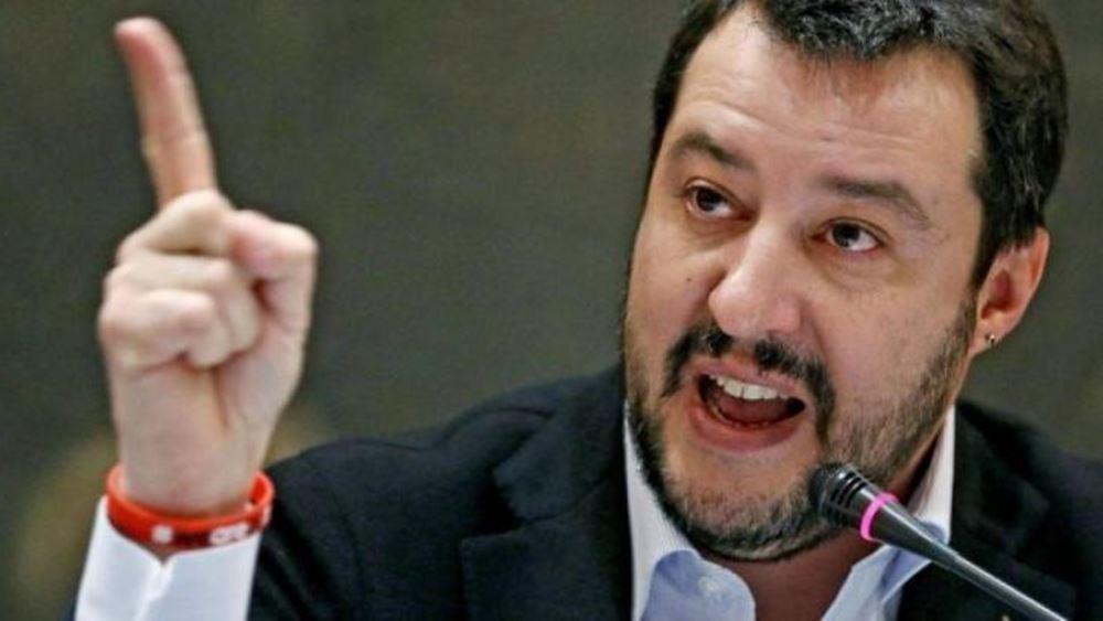 Νέες απειλές από τον Σαλβίνι να στείλει τους μετανάστες πίσω στη Λιβύη