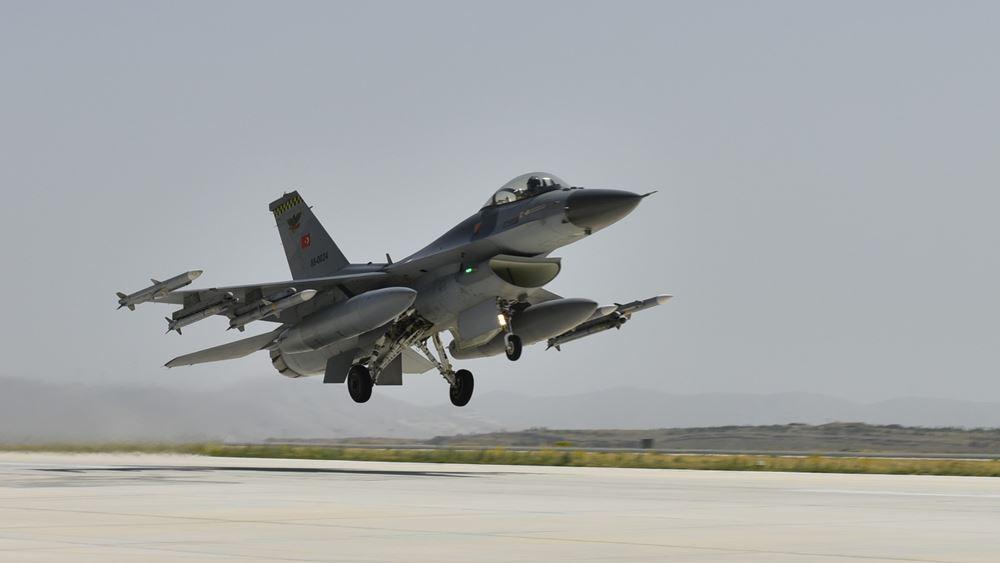 Παραβιάσεις εναέριου χώρου από 10 τουρκικά F-16