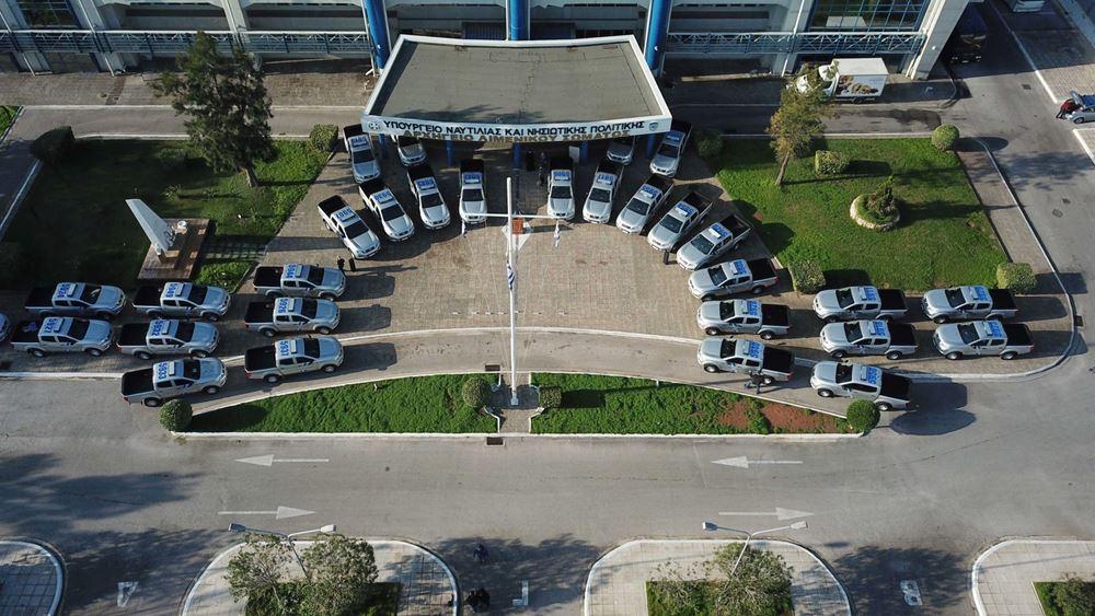 Τo Λιμενικό παρέλαβε 54 νέα οχήματα τύπου Pick Up