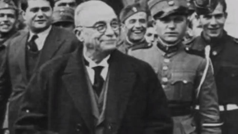 Ο δικτάτορας Ιωάννης Μεταξάς σε προεκλογικό σποτ του ΣΥΡΙΖΑ