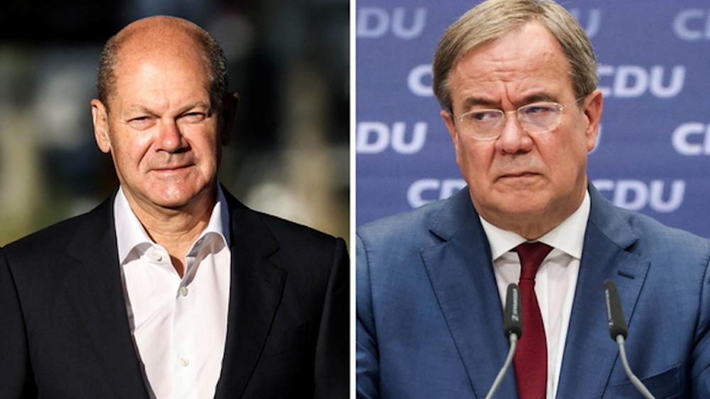 """Γερμανία: Προβάδισμα με βραχεία κεφαλή για SPD - Σολτς στη """"μάχη"""" για την καγκελαρία"""