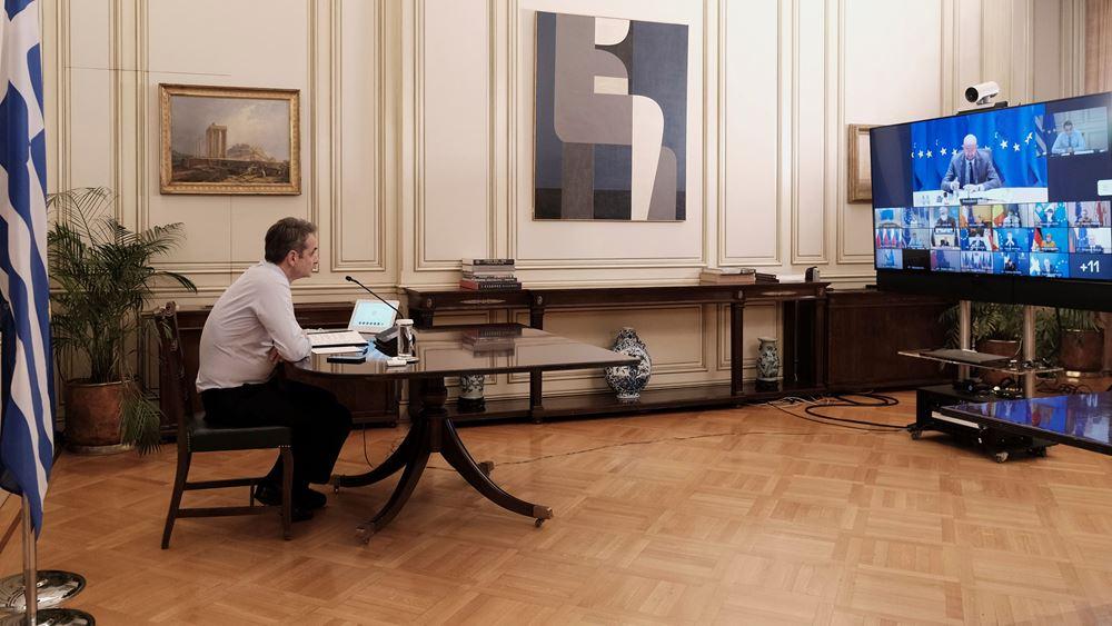 Κ. Μητσοτάκης: Η Ευρώπη πρέπει εφεξής να φροντίσει να οδηγεί τις εξελίξεις στο μέτωπο των αδειοδοτήσεων