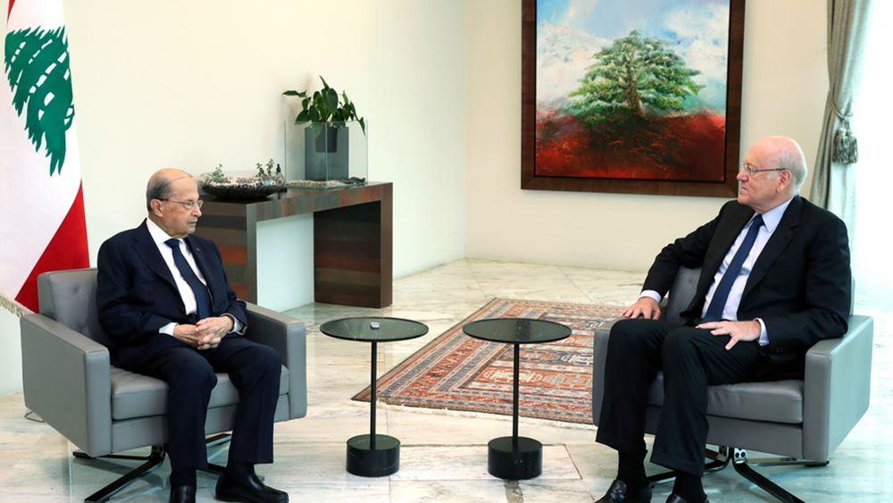 Τέλος στην πολιτική κρίση στον Λίβανο: Πρόεδρος και πρωθυπουργός συμφώνησαν για νέα κυβέρνηση