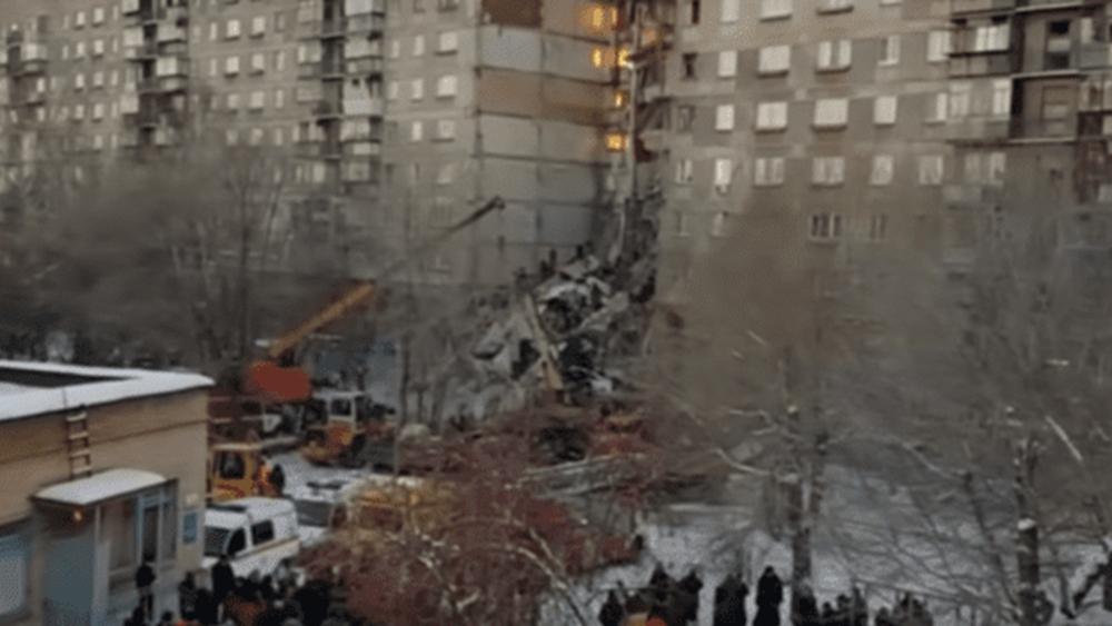 Ρωσία: Στους 39 ο αριθμός των νεκρών στην κατάρρευση της πολυκατοικίας στο Μαγκνιτογκόρσκ.