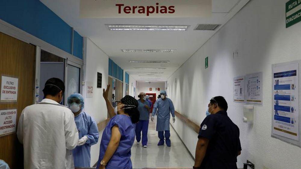 Μεξικό: 3.500 κρούσματα μόλυνσης από τον κορονοϊό
