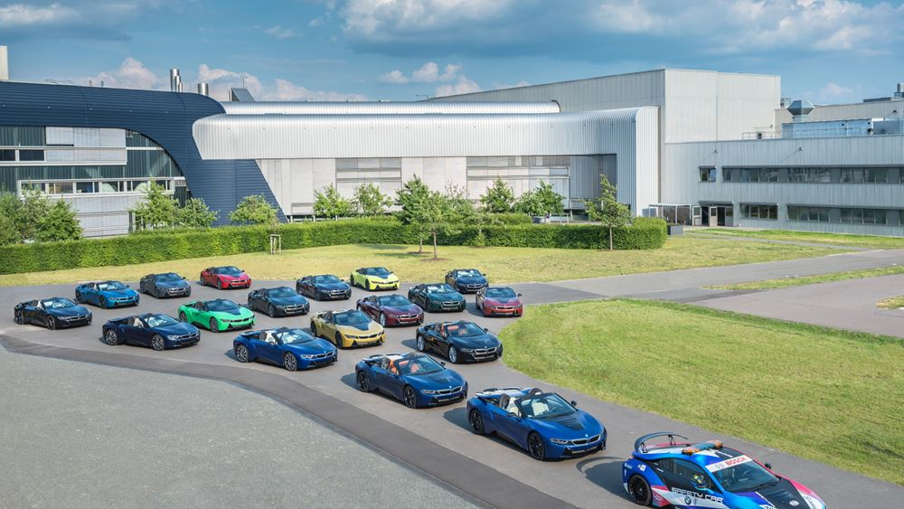 Οι τελευταίες 18 BMW i8 έφυγαν από το εργοστάσιο της Λειψίας