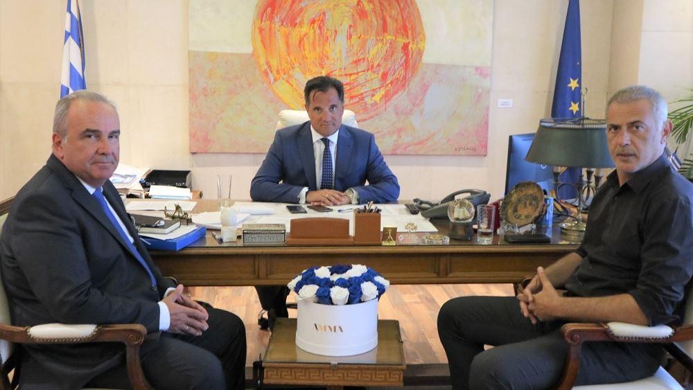 Συνάντηση Αδ. Γεωργιάδη με τον δήμαρχο Πειραιά Γ. Μώραλη