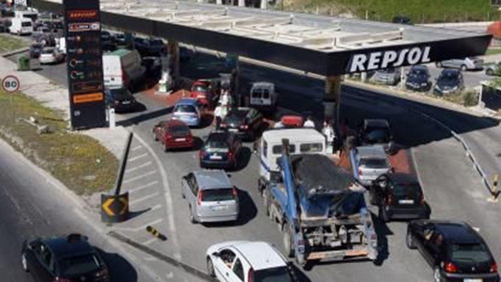Πορτογαλία: Παραλύει η χώρα από την απεργία των οδηγών βυτιοφόρων