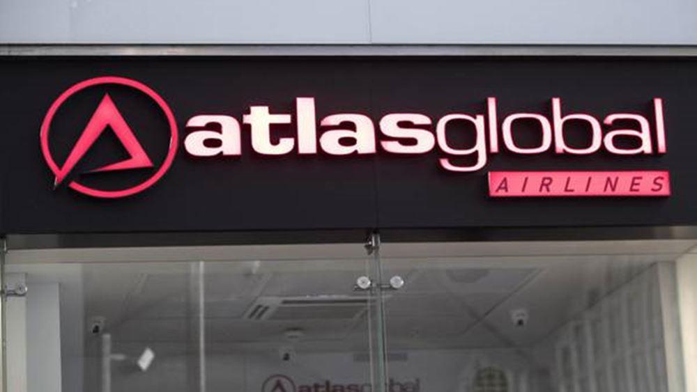 Χρεοκόπησε η τουρκική αεροπορική AtlasGlobal