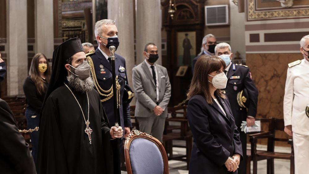 Κ. Σακελλαροπούλου: Παρέστη στην Επιμνημόσυνη Δέηση για την Ημέρα Μνήμης της Γενοκτονίας του Ελληνισμού του Πόντου