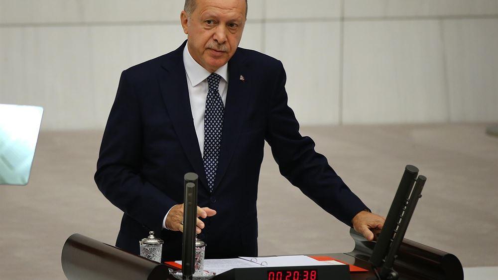Ερντογάν: Θα εμποδίσουμε τους μαχητές του ΙΚ να φύγουν από τη Συρία