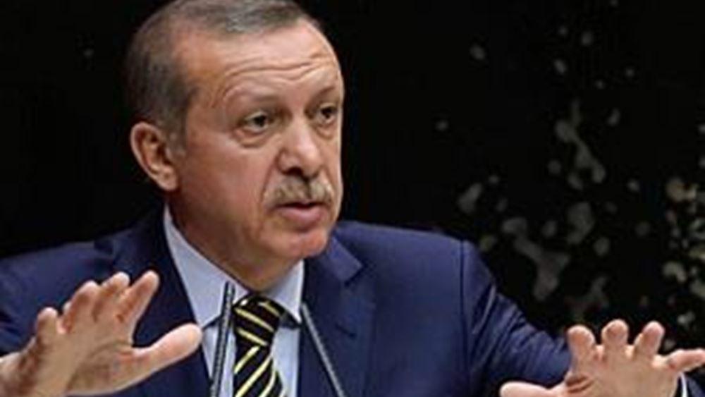 Ερντογάν: Συνεχίζουμε τις έρευνες στην Ανατολική Μεσόγειο με την ίδια αποφασιστικότητα