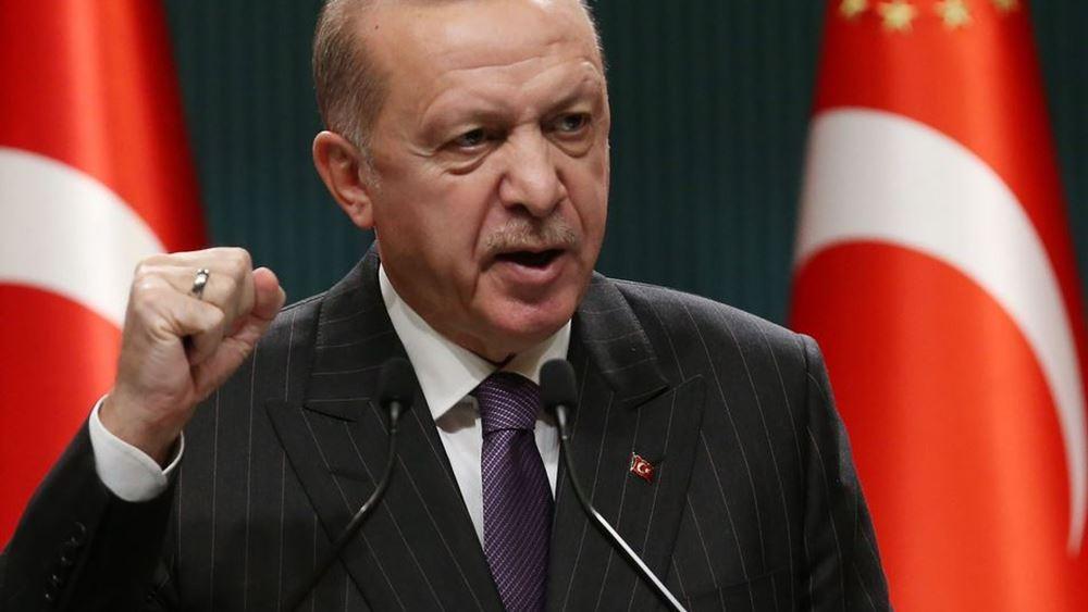 """Ο Ερντογάν κατηγορεί τις ΗΠΑ για """"συμμαχία με τρομοκράτες του ΡΚΚ"""""""