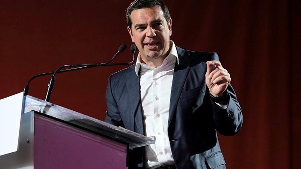 Τσίπρας: Ο ΣΥΡΙΖΑ θα στηρίξει για Κομισιόν όποιον είναι αντίπαλος του Βέμπερ