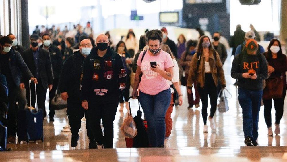ΗΠΑ: Αψηφώντας ειδικούς και πολιτικούς, εκατομμύρια Αμερικανοί ταξιδεύουν για τη γιορτή των Ευχαριστιών