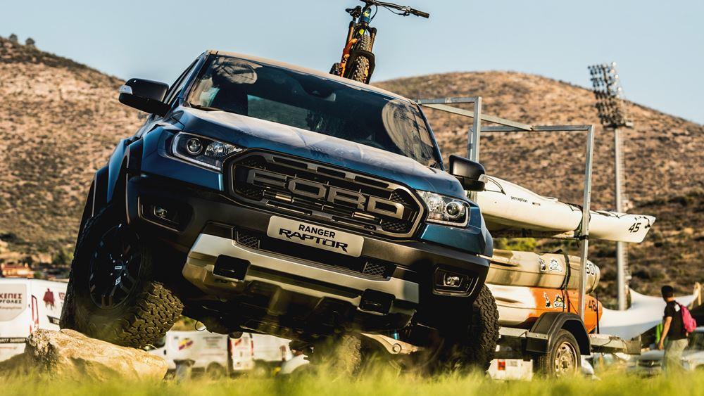 Στιγμές οδηγικής πανδαισίας από το νέο Ford Ranger Raptor (+video)