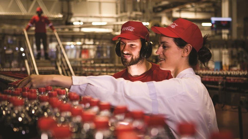 Ήπιαμε 112,6 εκατ. κιβώτια προϊόντων Coca Cola HBC