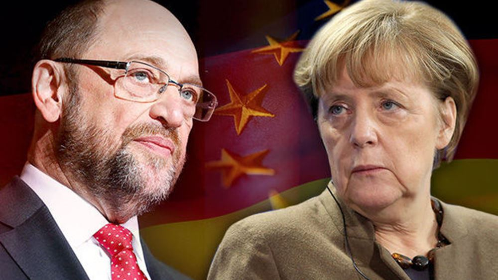 Merkel: Ναι σε σταθερή κυβέρνηση με SPD, όχι σε κυβέρνηση μειοψηφίας