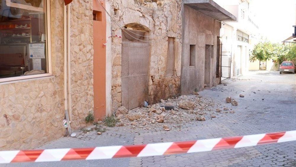 Σεισμός στην Κρήτη: Κλιμάκιο του ΣΥΡΙΖΑ στο Αρκαλοχώρι