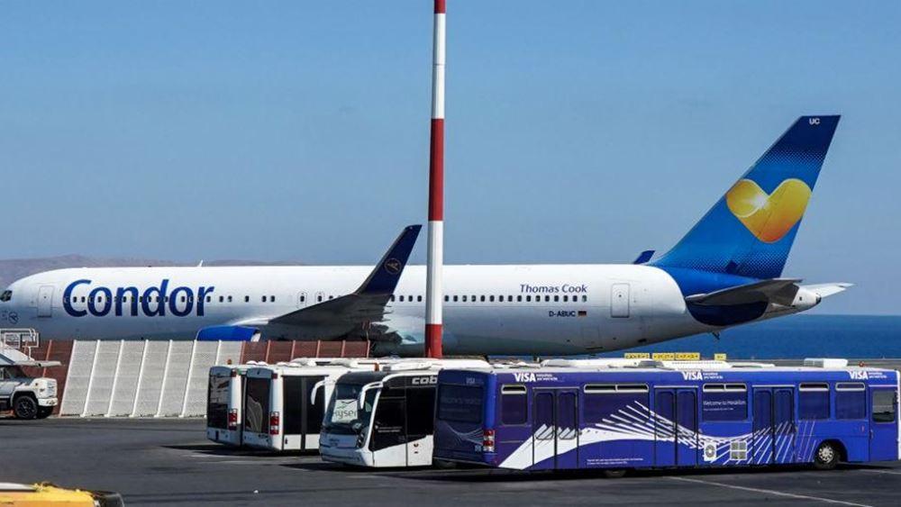 Condor, Eurowings και TUIfly βάζουν νέα δρομολόγια προς Ελλάδα