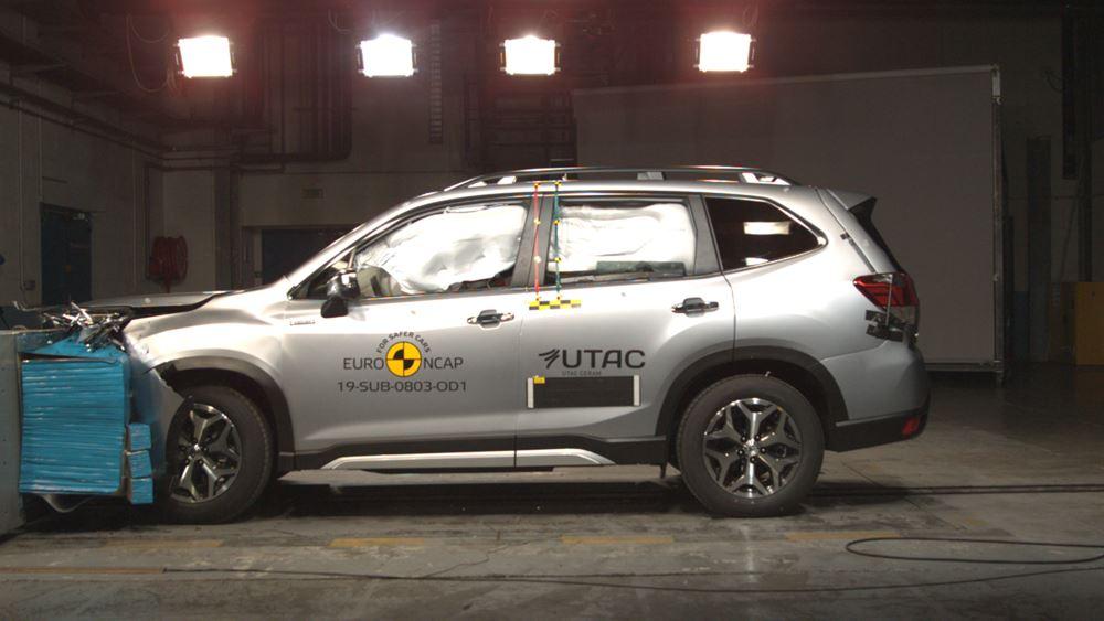 Κορυφαία ασφάλεια απο το Subaru Forester e-BOXER