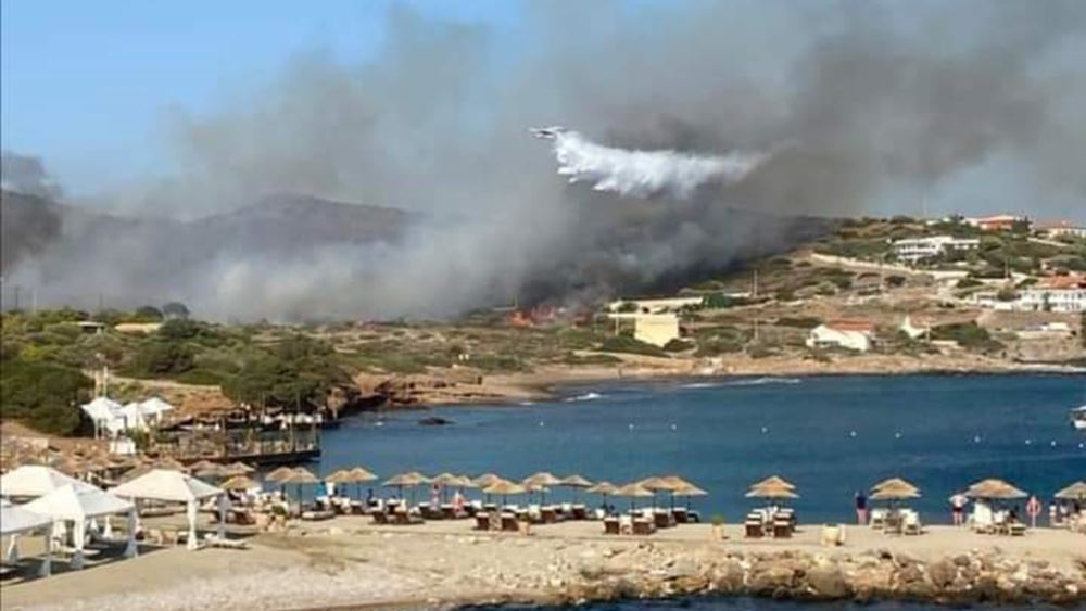 Έσβησε η φωτιά στο Σούνιο - Εμπρησμό καταγγέλλει ο δήμαρχος