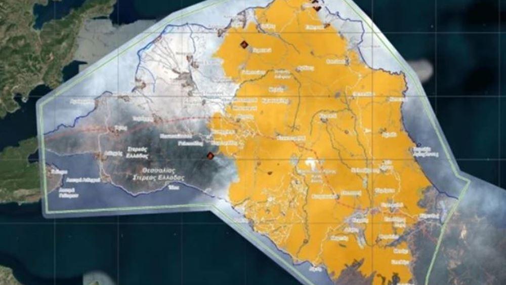 Εύβοια - Copernicus: Η μεγαλύτερη φυσική καταστροφή όλων των εποχών στην Ελλάδα από πυρκαγιά
