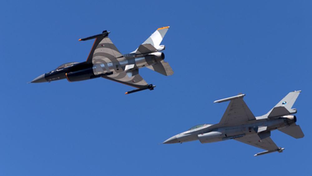 ΓΕΕΘΑ: Εως 1,1 δισ. για την αναβάθμιση μέρους των αεροσκαφών F-16