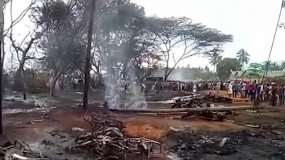 Τανζανία: Στους 86 ανήλθαν οι νεκροί από την έκρηξη του βυτιοφόρου