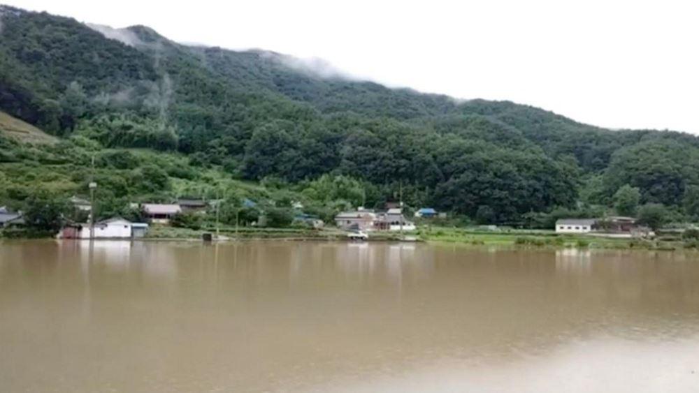 Νότια Κορέα: Ξεπέρασε τους 20 ο αριθμός των νεκρών από τις καταρρακτώδεις βροχές