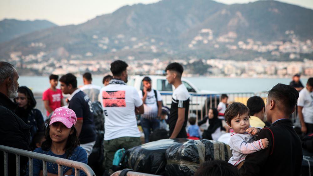 Κινητοποίηση νησιωτών στο κέντρο της Αθήνας για το μεταναστευτικό