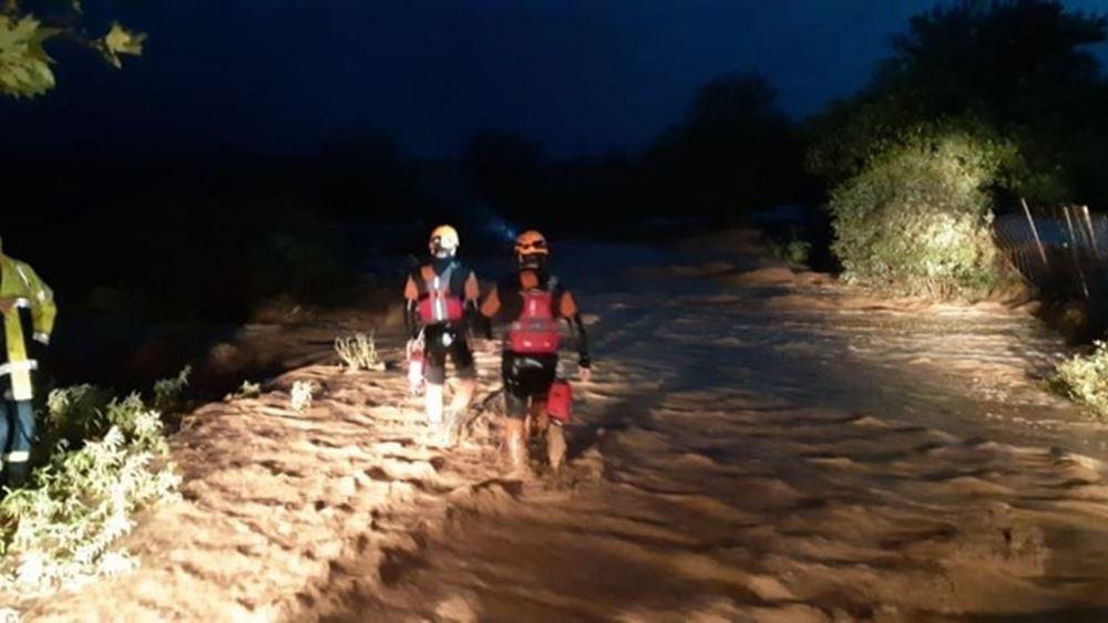 Τρίκαλα: Σε οριακό σημείο η στάθμη των νερών στις κοινότητες Βλοχού και Μεταμόρφωσης