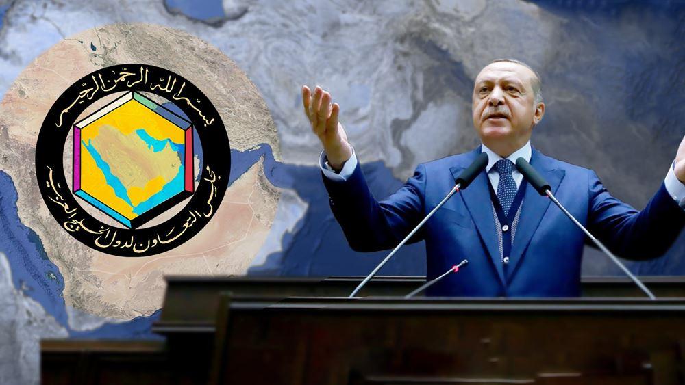 Ο Ερντογάν σπεύδει να επωφεληθεί από το κλίμα συμφιλίωσης μεταξύ των αραβικών χωρών