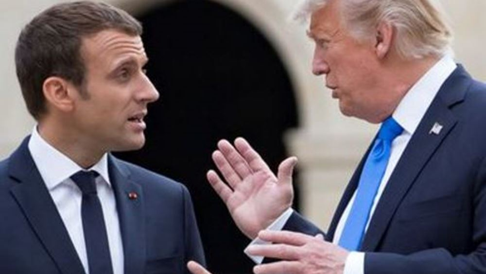 Ο Macron, οι ΗΠΑ και το ΝΑΤΟ