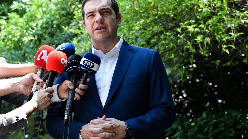 Αλ. Τσίπρας: Φταίει ο... Μητσοτάκης για την έκθεση της Κομισιόν